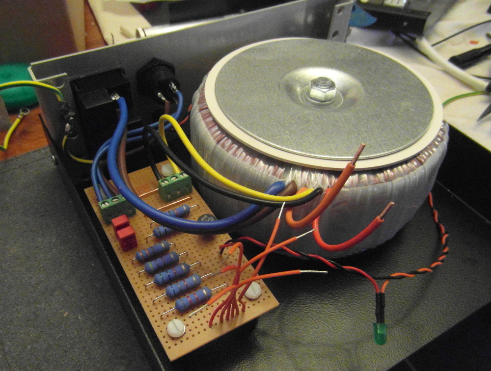 Bytes, Bolts and Leaves   DIY Armageddon (Turntable power supply)