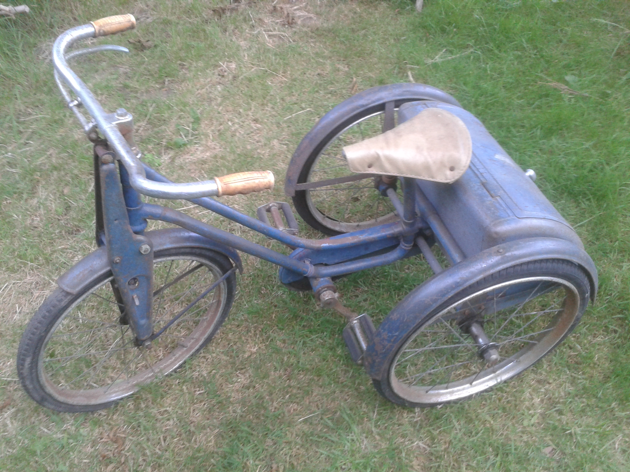 Tricycle Restoration Parts : Bytes bolts and leaves child s tricycle restoration